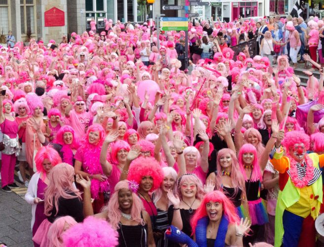 Pink Wig Night Falmouth Week